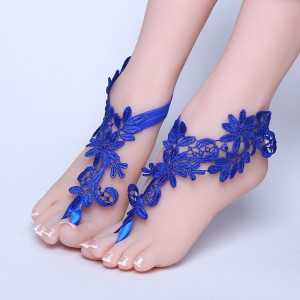 Beach Wedding Barefoot Sandals, AF1310006