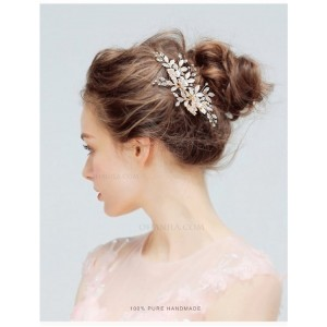 Special Alloy/Imitation Hair Decoration HAP2006