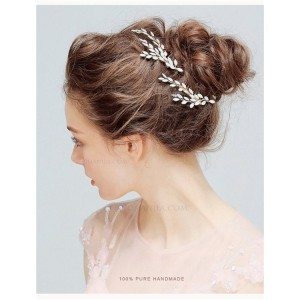 Special Alloy/Imitation Hair Decoration HAP2007